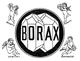 Borax for beauty, purity, comfort, happiness
