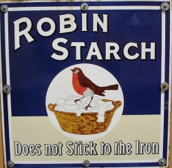 Does not stick to the iron - vintage ad