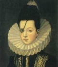 16th century fluted ruff in head and shoulders portrait