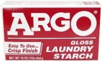 Argo gloss starch